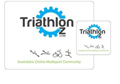 TriathlonOz Merchandise Mouse Mats, TriathlonOz Mouse Mat & Coaster